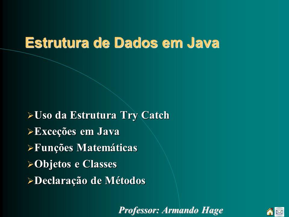 Estrutura de Dados em Java
