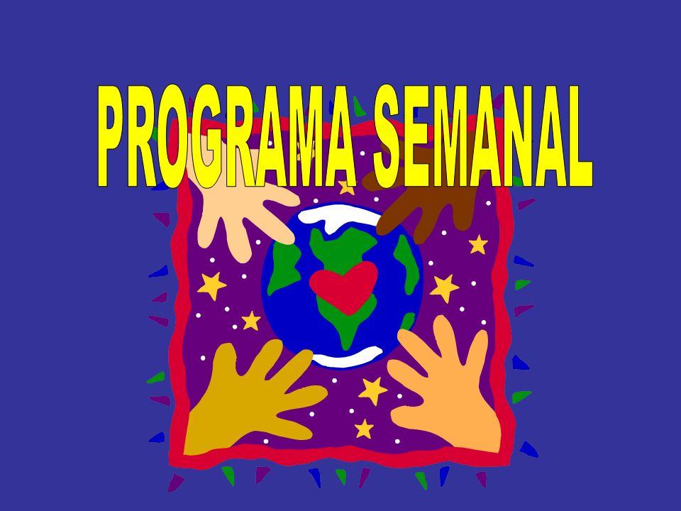 PROGRAMA SEMANAL