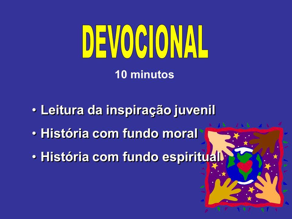 DEVOCIONAL Leitura da inspiração juvenil História com fundo moral