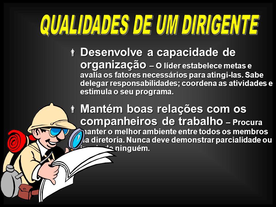 QUALIDADES DE UM DIRIGENTE
