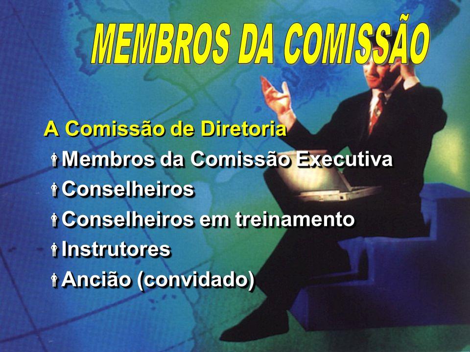 MEMBROS DA COMISSÃO A Comissão de Diretoria