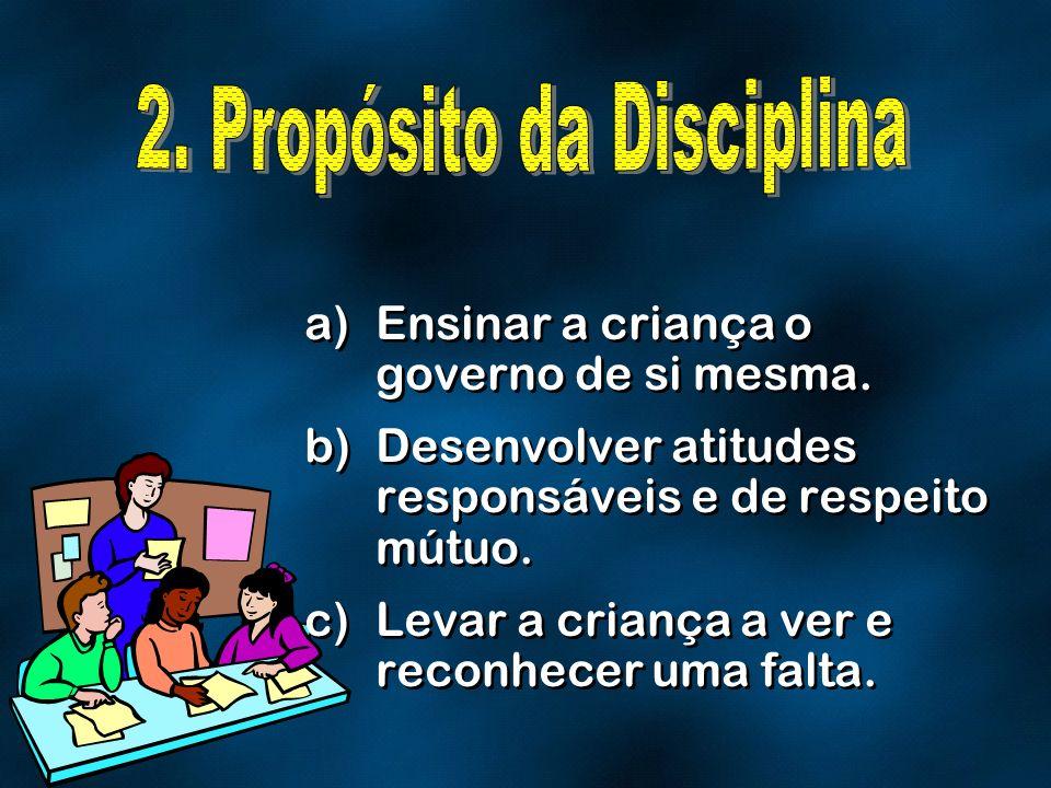 2. Propósito da Disciplina