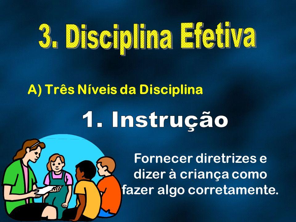 A) Três Níveis da Disciplina