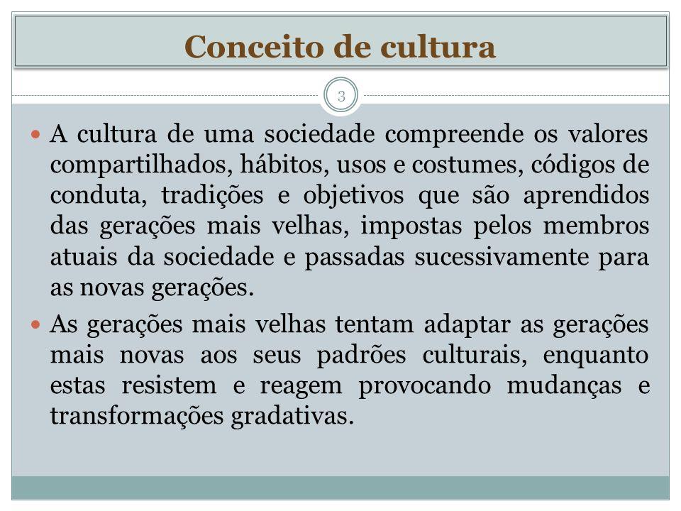 Conceito de cultura
