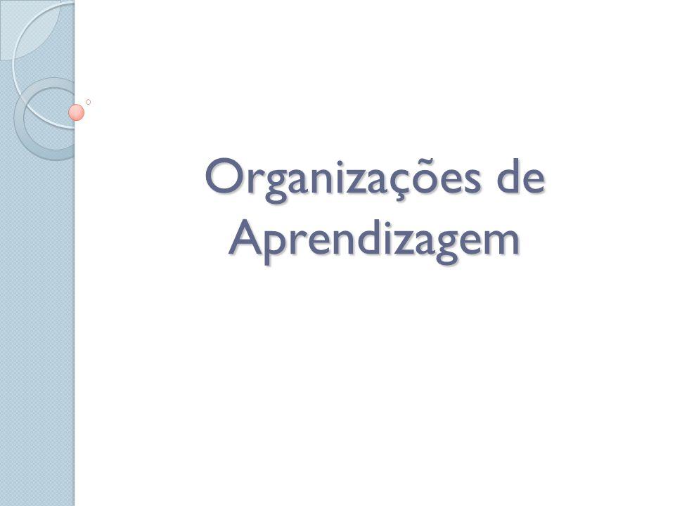 Organizações de Aprendizagem