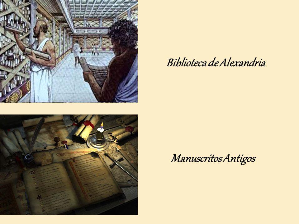 Biblioteca de Alexandria Manuscritos Antigos