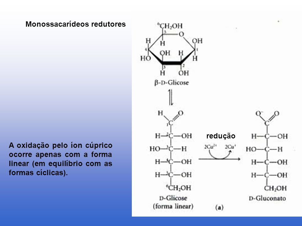 Monossacarídeos redutores