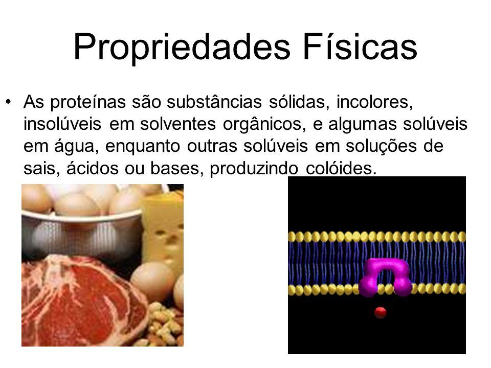 Propriedades Físicas