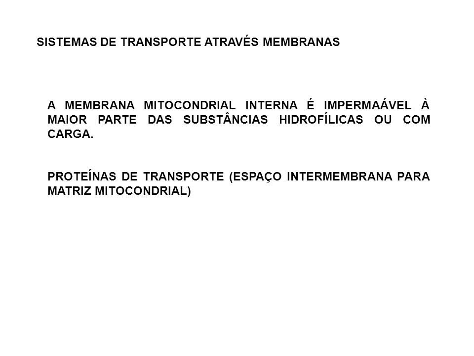 SISTEMAS DE TRANSPORTE ATRAVÉS MEMBRANAS