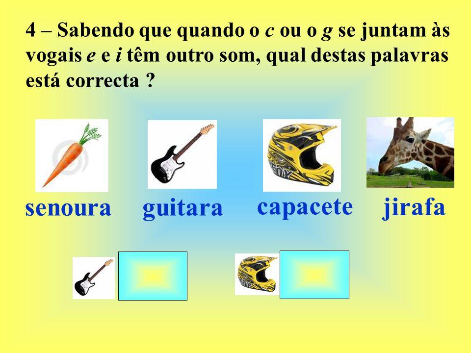 senoura guitara capacete jirafa