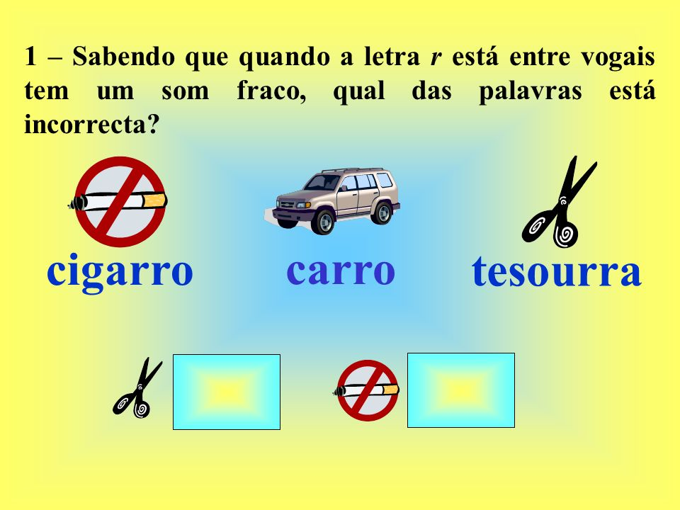 cigarro carro tesourra