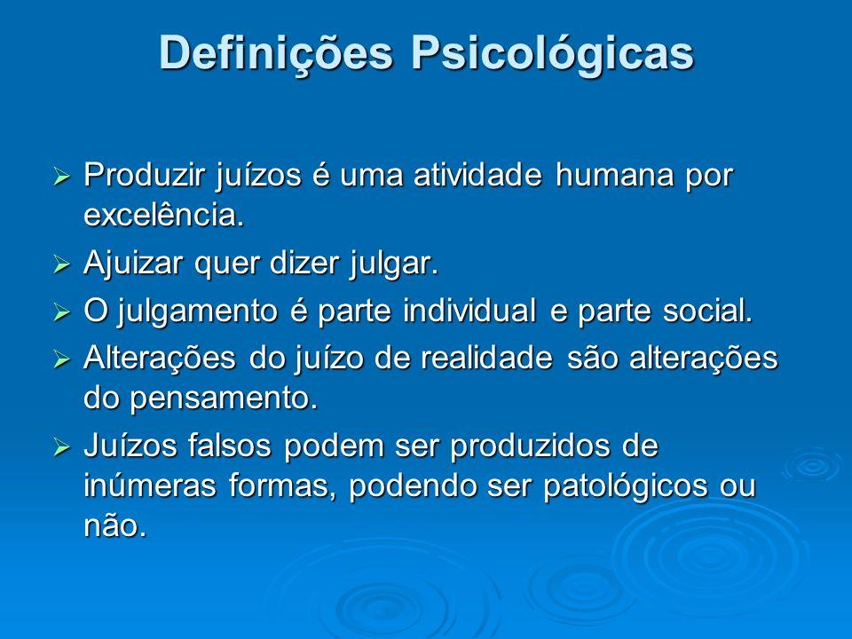 Definições Psicológicas