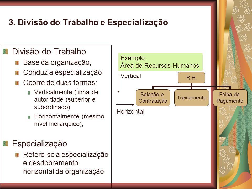 3. Divisão do Trabalho e Especialização