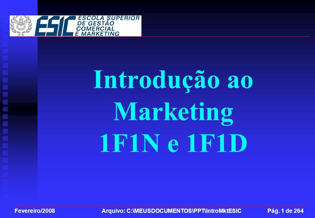 Introdução ao Marketing 1F1N e 1F1D