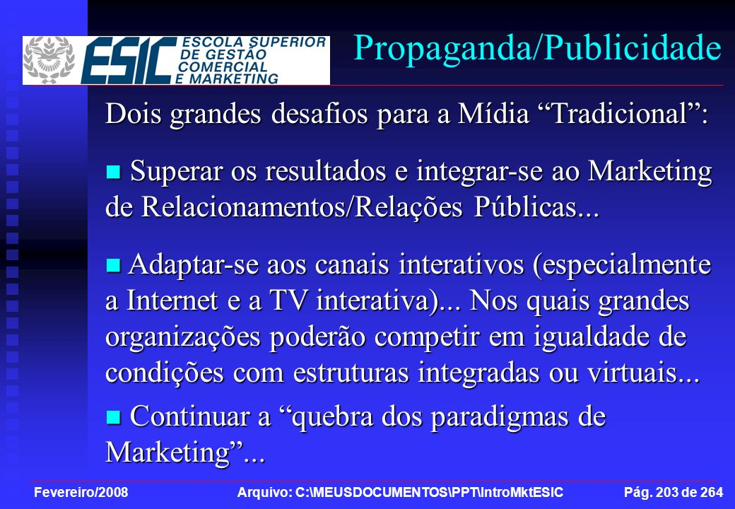 Propaganda/Publicidade