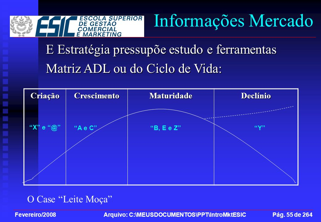 Informações Mercado E Estratégia pressupõe estudo e ferramentas