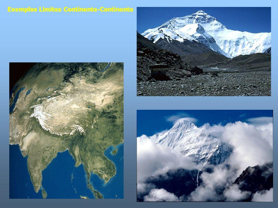 Exemplos Limites Continente-Continente