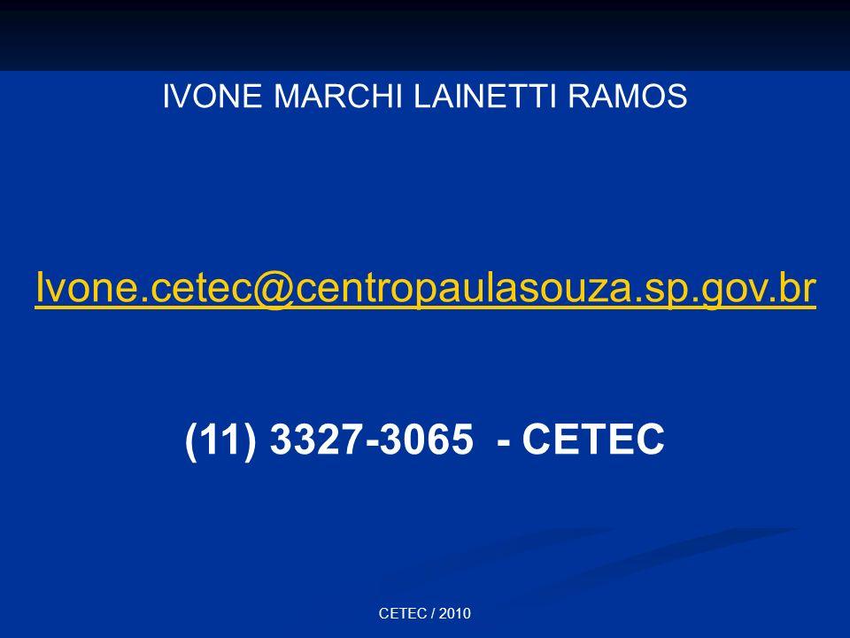 IVONE MARCHI LAINETTI RAMOS