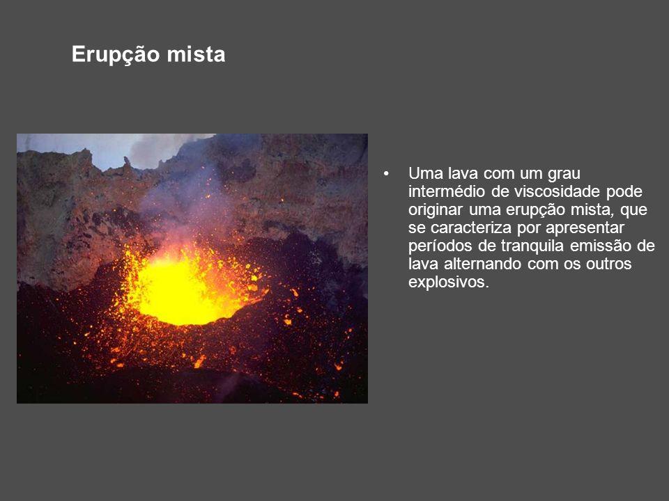 Erupção mista