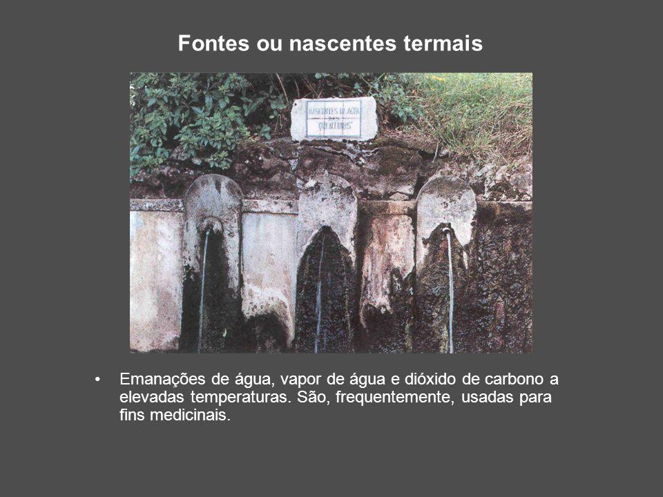 Fontes ou nascentes termais