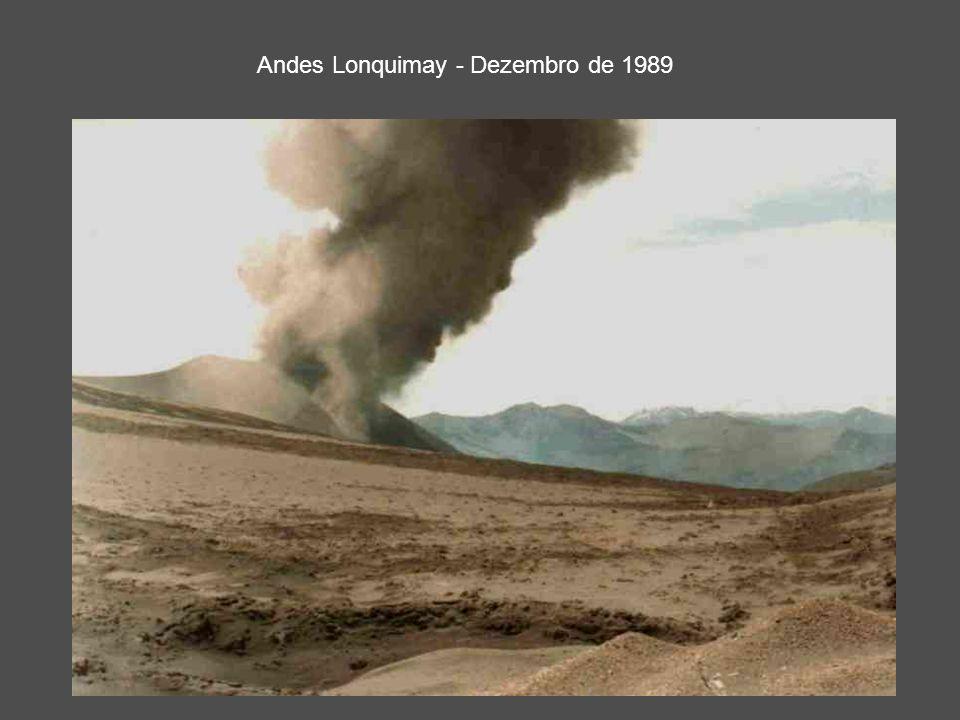 Andes Lonquimay - Dezembro de 1989