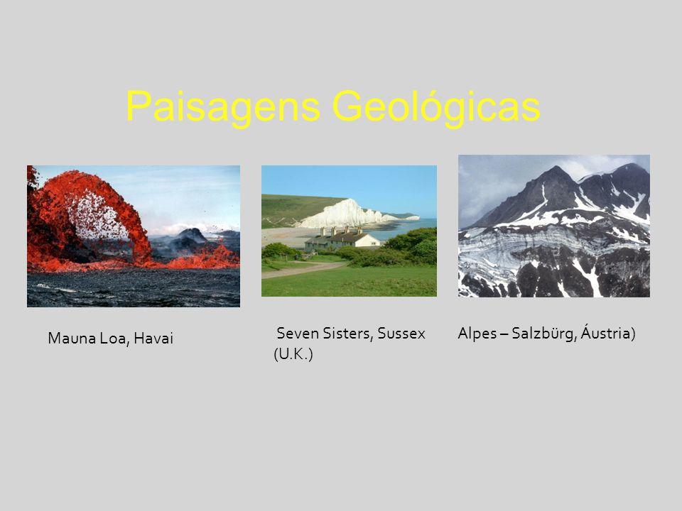 Paisagens Geológicas Seven Sisters, Sussex (U.K.)