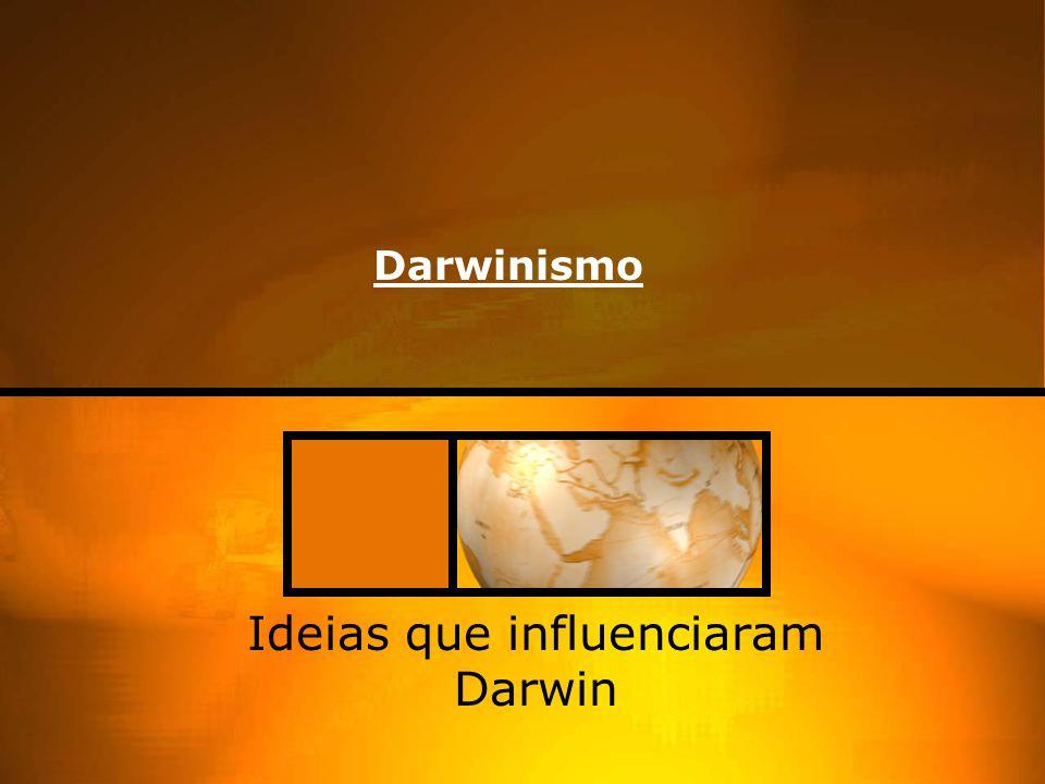 Ideias que influenciaram Darwin