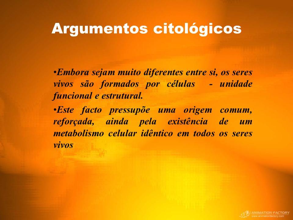 Argumentos citológicos