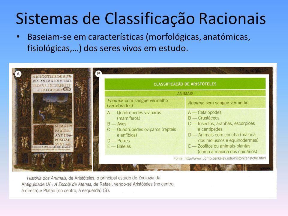 Sistemas de Classificação Racionais