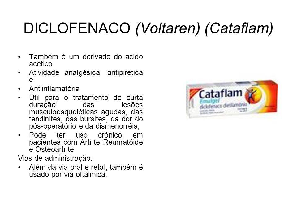 DICLOFENACO (Voltaren) (Cataflam)