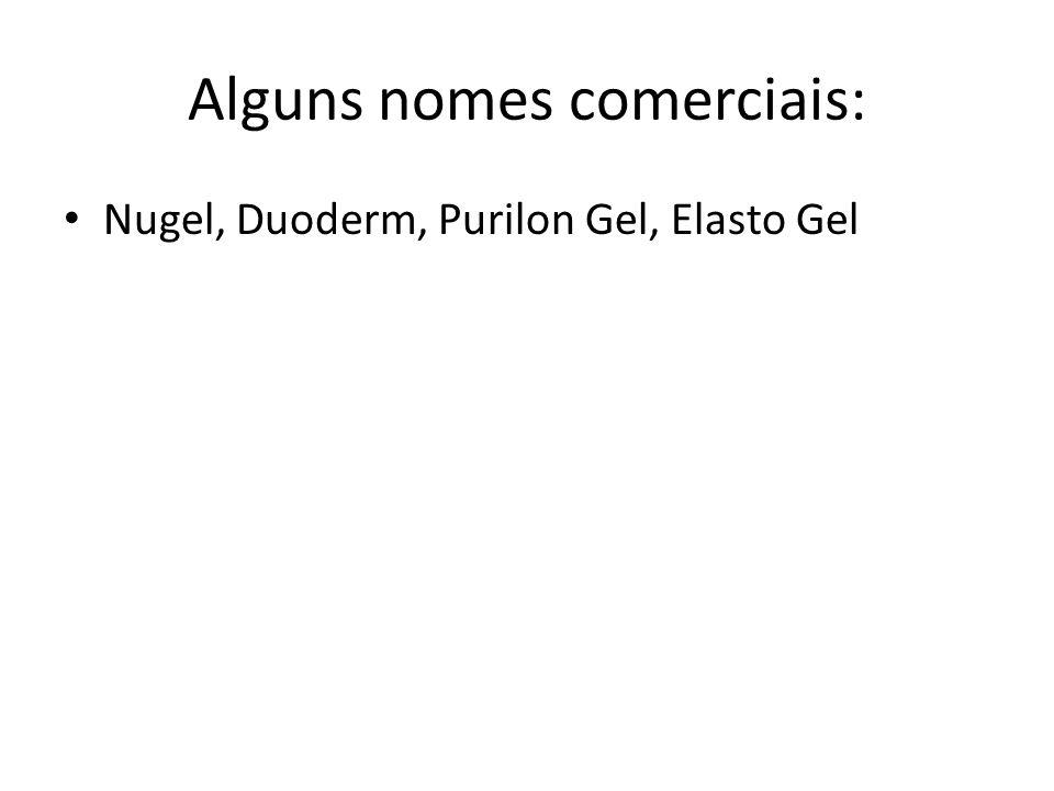 Alguns nomes comerciais: