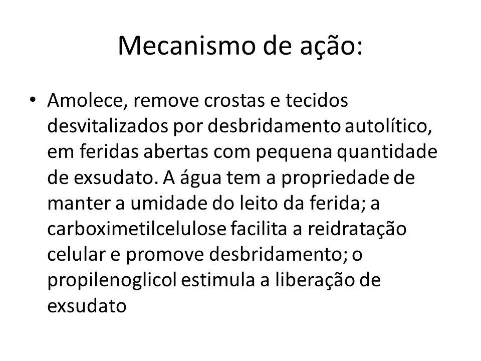 Mecanismo de ação: