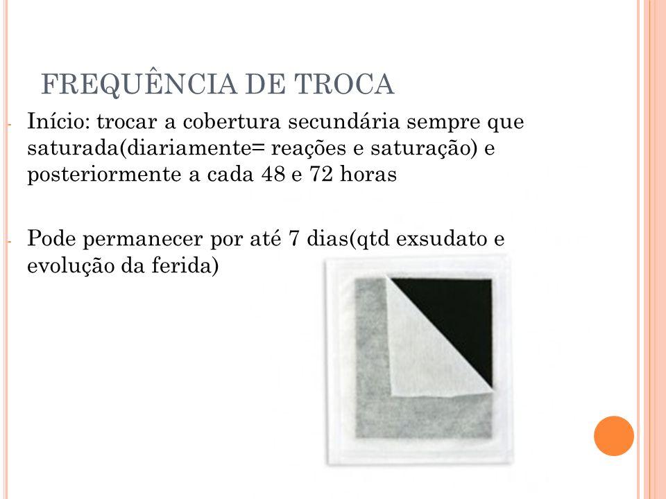 FREQUÊNCIA DE TROCA