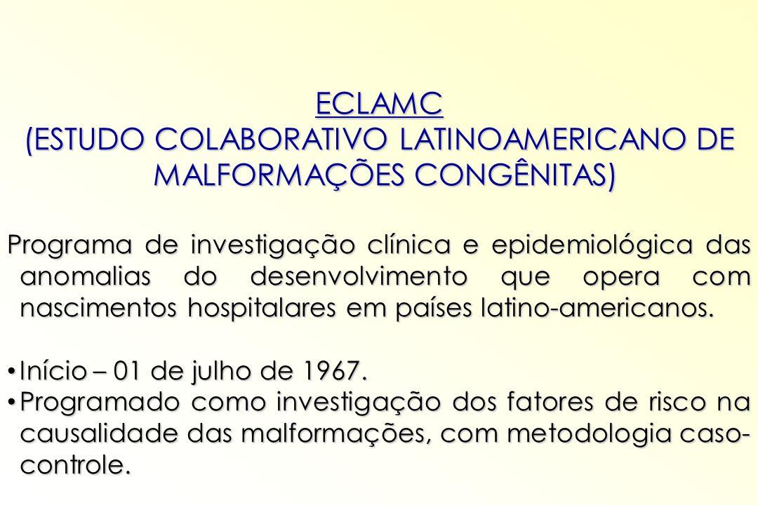 (ESTUDO COLABORATIVO LATINOAMERICANO DE MALFORMAÇÕES CONGÊNITAS)