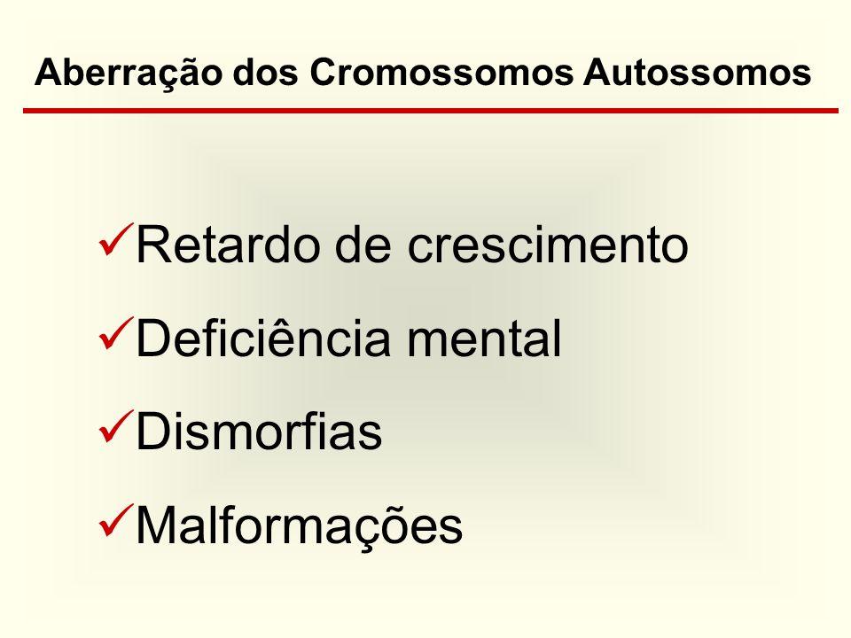 Aberração dos Cromossomos Autossomos