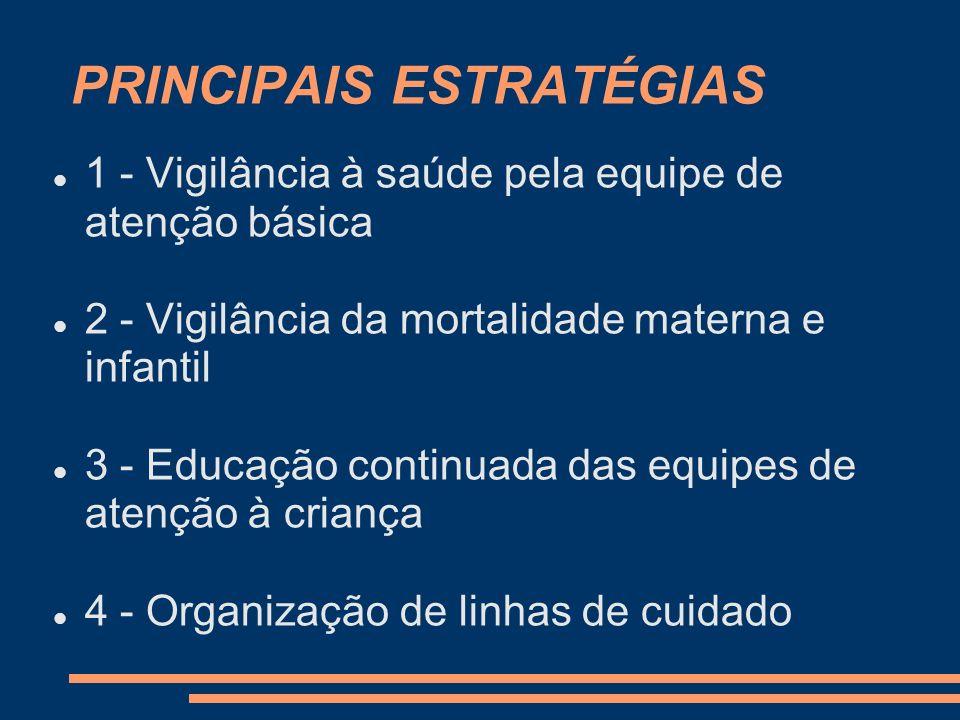 PRINCIPAIS ESTRATÉGIAS