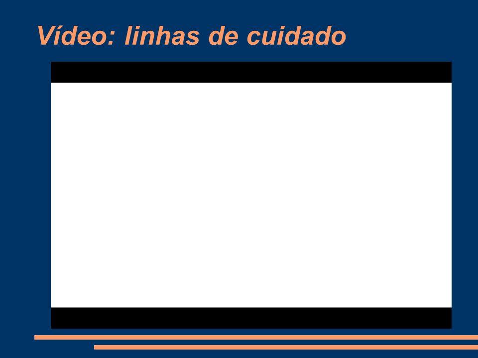 Vídeo: linhas de cuidado