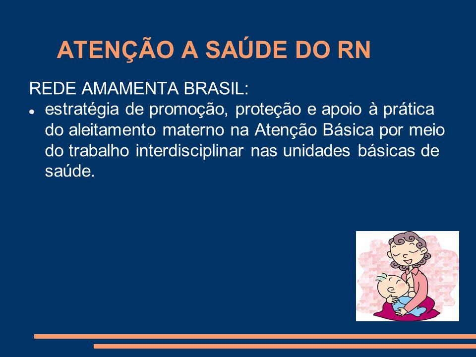 ATENÇÃO A SAÚDE DO RN REDE AMAMENTA BRASIL: