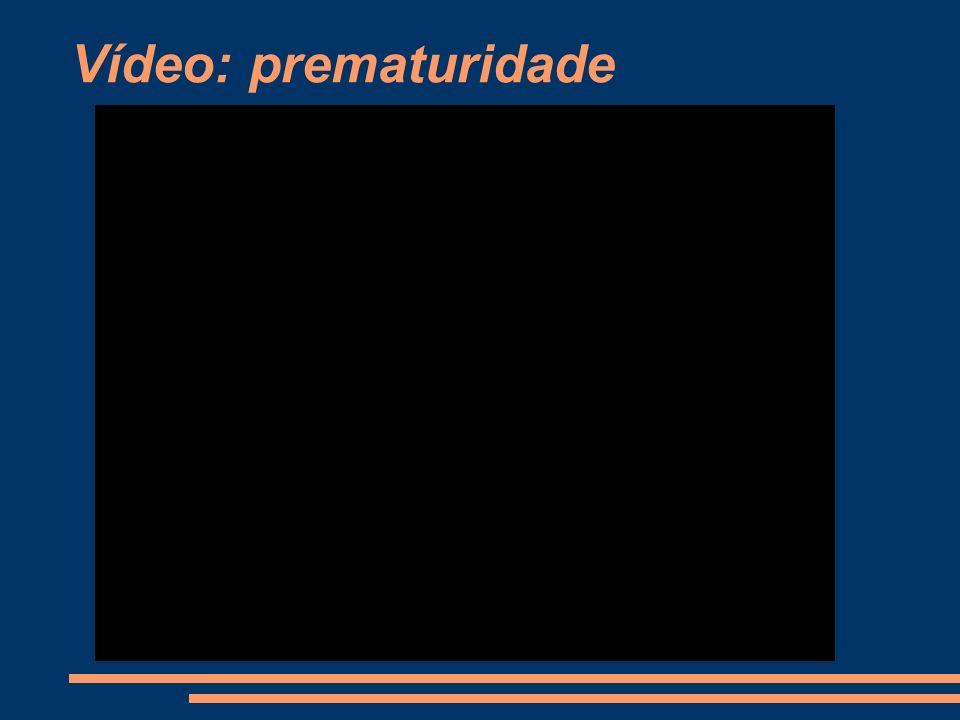 Vídeo: prematuridade