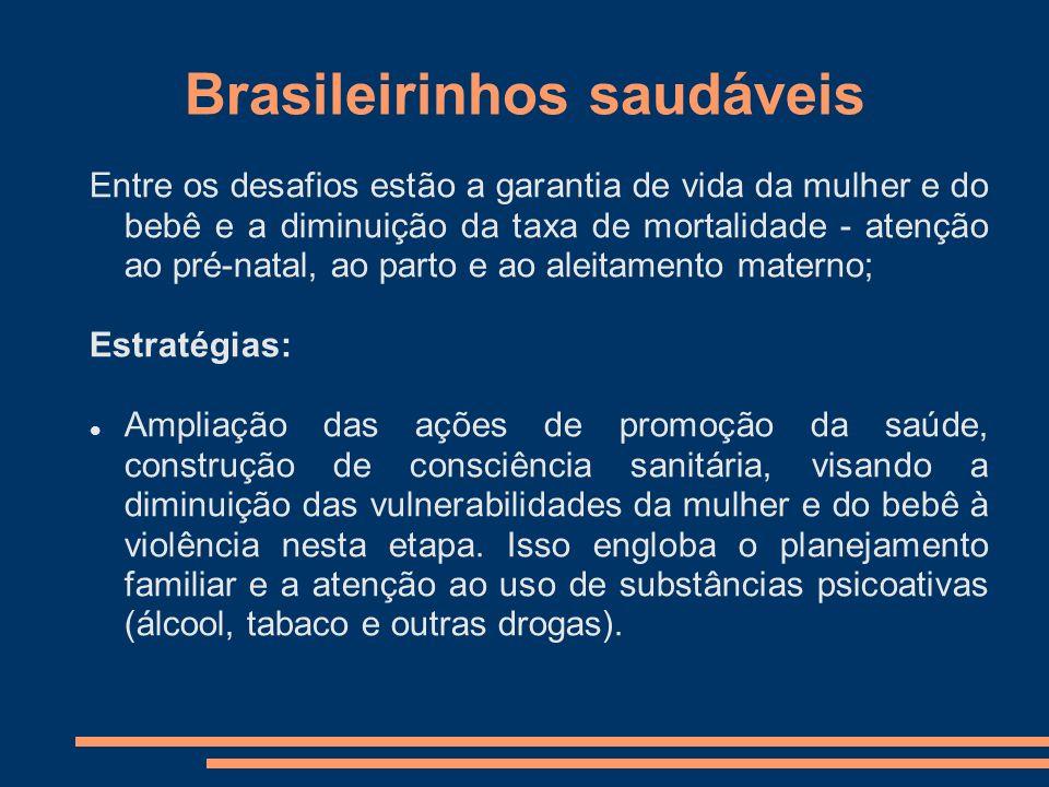 Brasileirinhos saudáveis