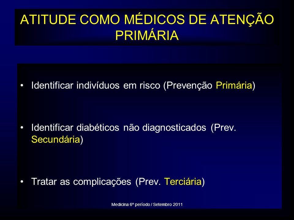 ATITUDE COMO MÉDICOS DE ATENÇÃO PRIMÁRIA