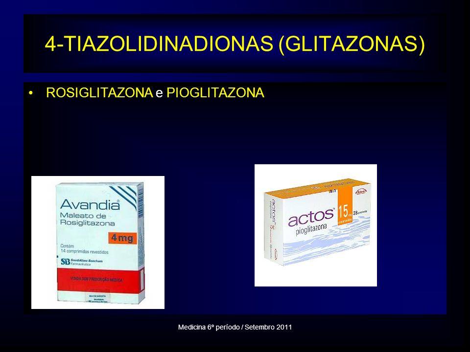 4-TIAZOLIDINADIONAS (GLITAZONAS)