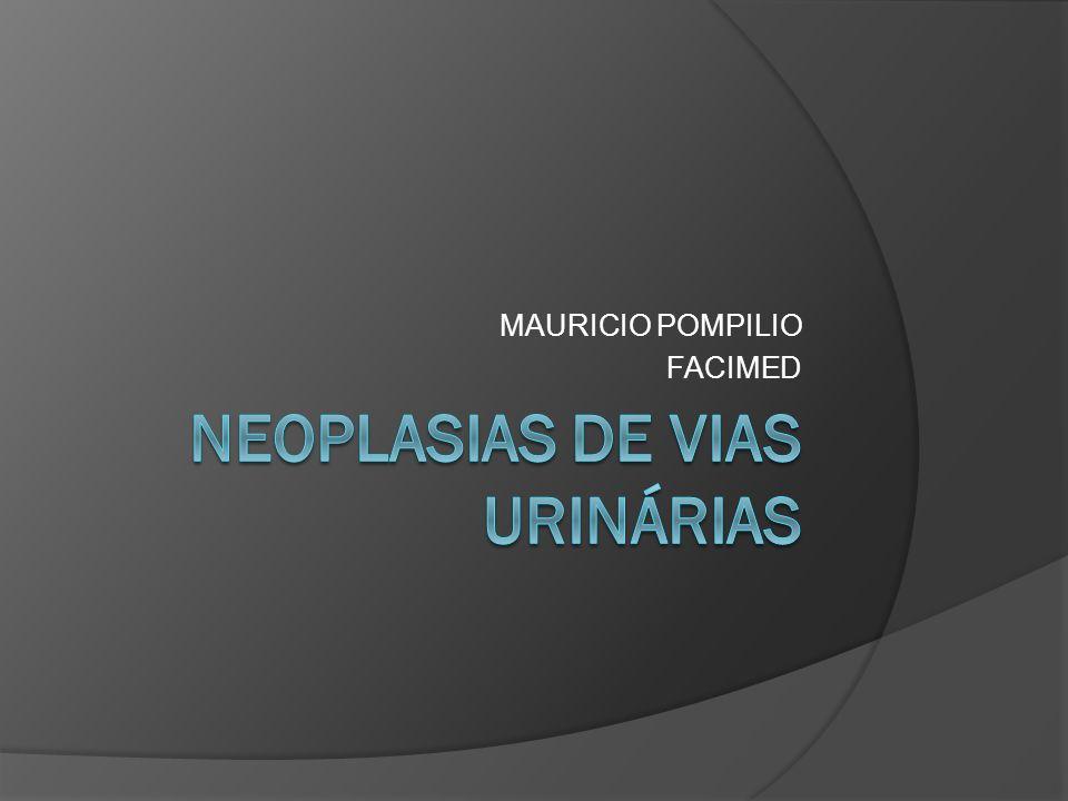 NEOPLASIAS DE VIAS URINÁRIAS
