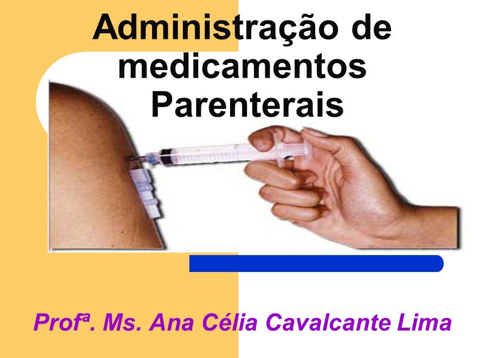 Administração de medicamentos Parenterais