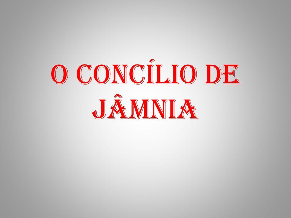 O Concílio de Jâmnia