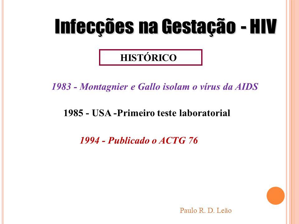 Infecções na Gestação - HIV