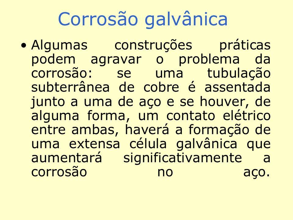 Corrosão galvânica