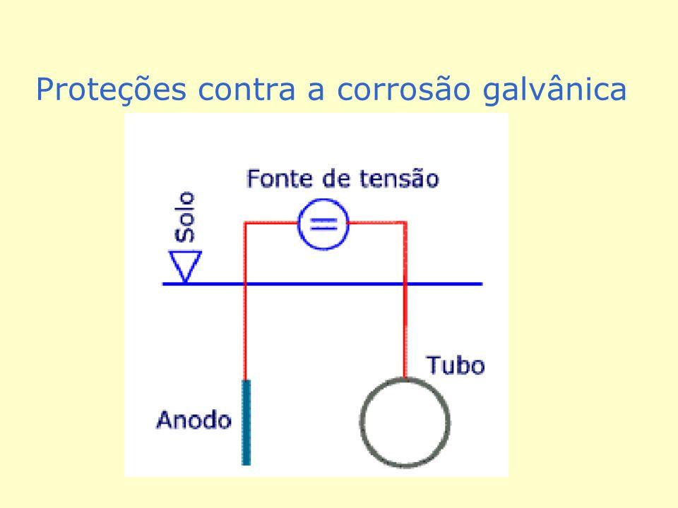 Proteções contra a corrosão galvânica