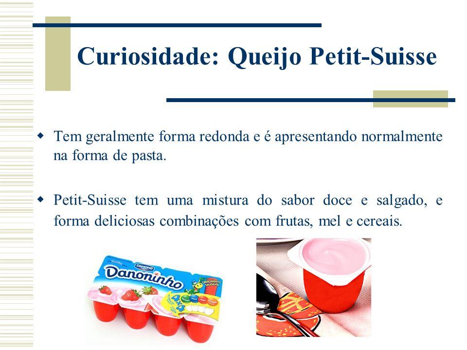 Curiosidade: Queijo Petit-Suisse