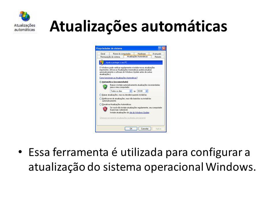 Atualizações automáticas